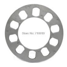 TIROL T12853a Universal Wheel Spacer 5 hole 12mm thick Aluminum Wheel adapter fit 5 lug 5X114.3 5X120 5X120.7 5X127 FREESHIPPING(China (Mainland))