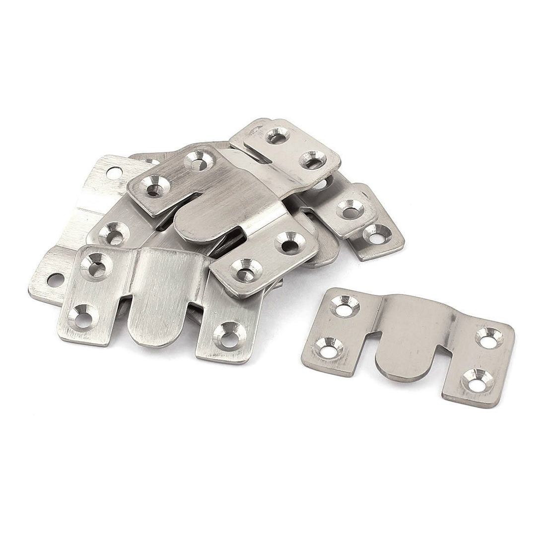 DHDL-Furniture Sectional Interlock Style Sofa Connector 10pcs Silver Tone(China (Mainland))