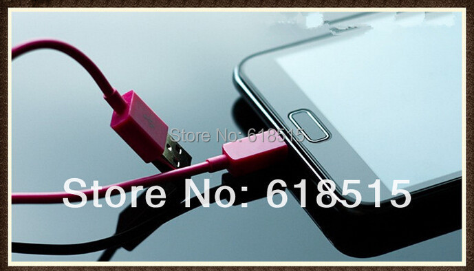 HOt sale sync & Changer Micro USB Cable Data Cable For htc for blackberry etc micro usb mobile phone
