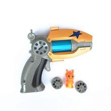 Мультфильм Аниме Slugterra Зондирования Свет Игрушечный Пистолет Дать 1 Slugterra Кукла Фигурку В Качестве Подарков Мальчик Игрушечный Пистолет Пистолет Nerf(China (Mainland))