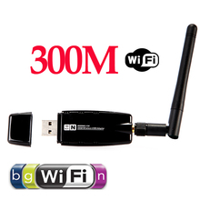 Mini 300Mbps Wireless USB WiFi Wi Fi Wi-Fi Network Adapter 2.4GHz ISM with External Antenna Networking 802.11n/g/b 5054(China (Mainland))