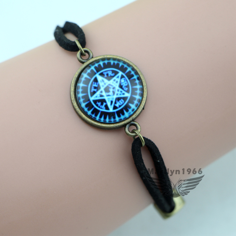 DD0103,fashion Glass Dome supernatural bracelet, Handmade Jewelry,Cosplay party Jewelry Best Gift(China (Mainland))