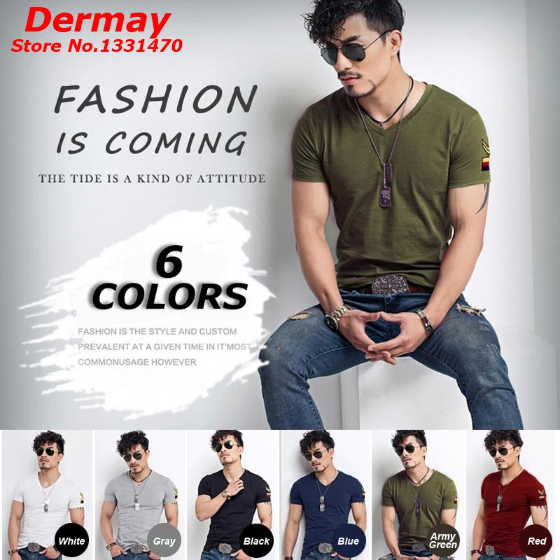 Мужская футболка Dermay Slim Fit t V , 6 Homme m/3xl мужская футболка dermay slim fit t v 6 homme m 3xl