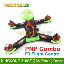 KINGKONG 210GT Multicopter FPV QAV Racing Drone PNP Combo with F3 Flight Control