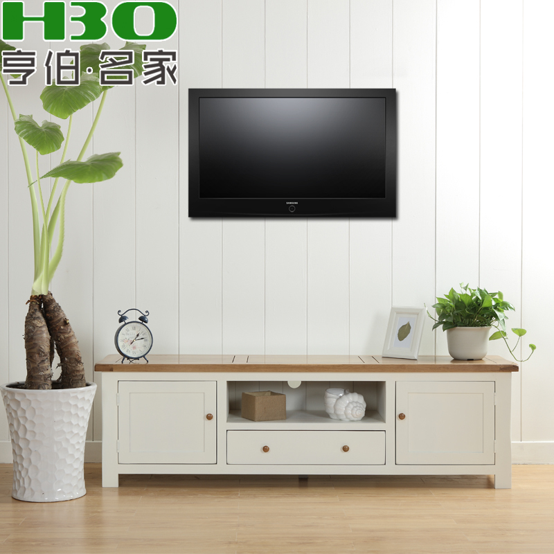 Solid Wood Furniture Living Room Tv Cabinet Wood Tv Cabinet White Oak Tv Cabinet Tv