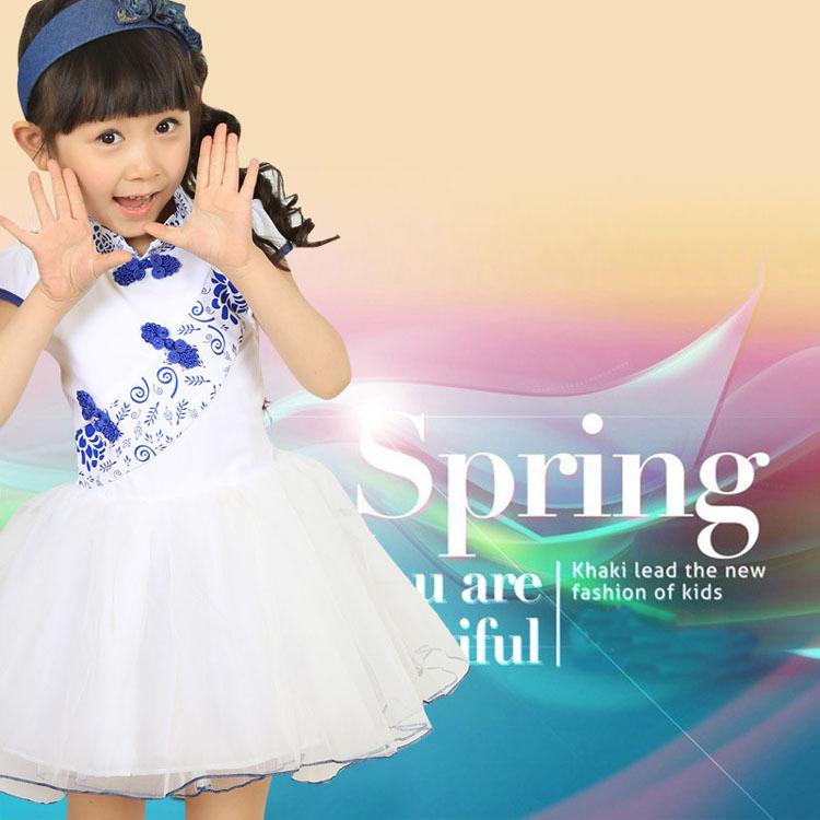 Платье для девочек Topgreen cheongsam 2015 girl dress платье для девочек pettigirl 2015 girl gd40918 11 gd40918 11^^ei