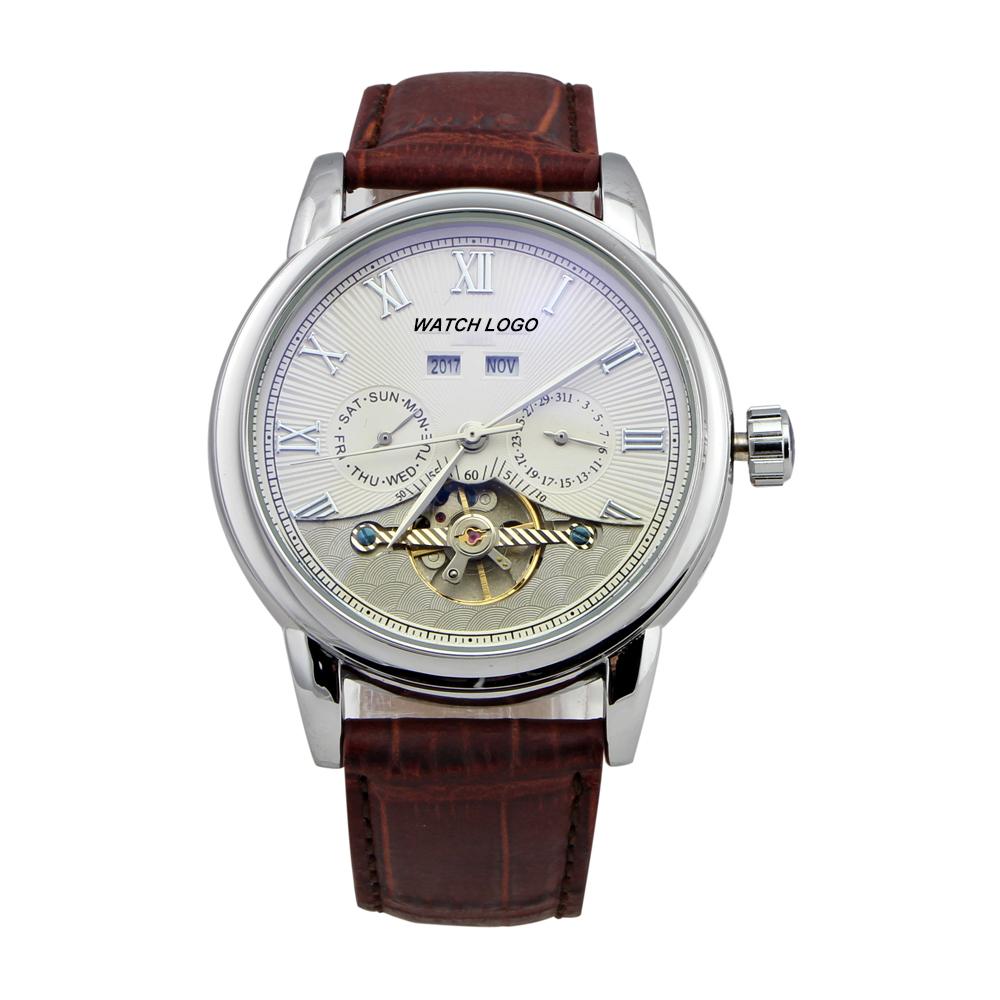 New Style Men brand automatic Mechanical flywheel Watch sports watch SS00283<br><br>Aliexpress