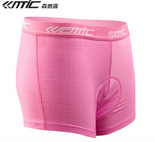 Women Bicycle Cycling Bike Short Underwear 3D Padded Coolmax Pink HOT S-XL With pad(China (Mainland))