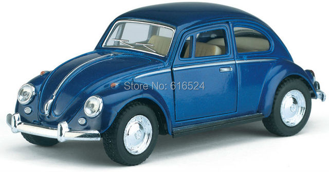 Brand New Classic 1967 Volkswagen Vw Classic Beetle Bug Vintage 1/32 Scale Diecast Metal Pull Back Car Model Toy For Gift/Kids