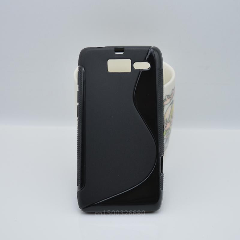 Simple And Fashion TPU Soft Gel S-Line Wave Cover Case Skin For Motorola Droid Razr M XT907 / Droid RAZR i XT890(China (Mainland))