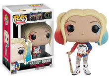 Funko Pop 97 Suicide Squad Boomerang Batman Joker Harley Quinn Deadshot Rick Katana 10CM Action Figure Super Heroes Collection(China (Mainland))