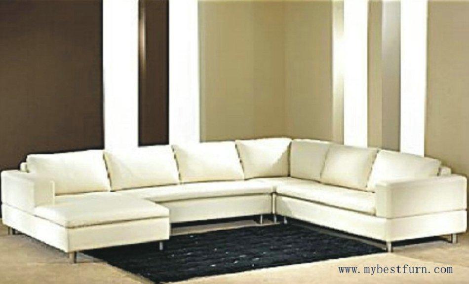 Free Shipping Modern Sofa, Top grain cattle leather, customized sofa furntiure S8576(China (Mainland))
