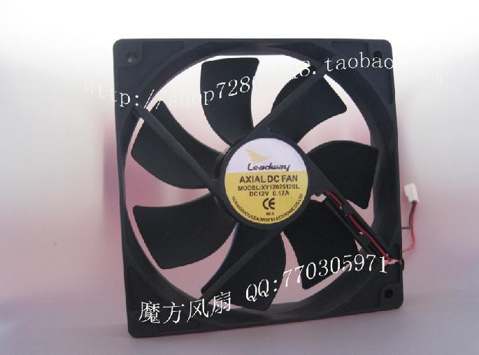 12cm case fan ultra-quiet fan 1600 rpm Leadway AXIAL FAN 12V computer fan(China (Mainland))