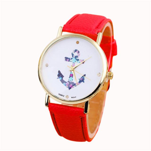 Zegarek damski flower anchor różne kolory