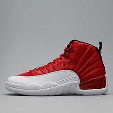 New 2016 women air jordan 12 retro shoes red and white france blue gym red navy gum olympic for man size US 8 to 13(China (Mainland))