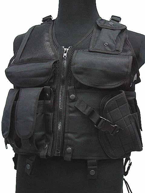 Гаджет  SWAT Airsoft Combat Tactical Assault Hunting Vest BK B bullet proof vest None Безопасность и защита