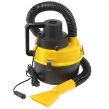 Portable Wet Dry Car Vacuum Cleaner Handheld Mini Auto Car Dust Vacuum Cleaner with Brush Crevice and Nozzle Head(China (Mainland))