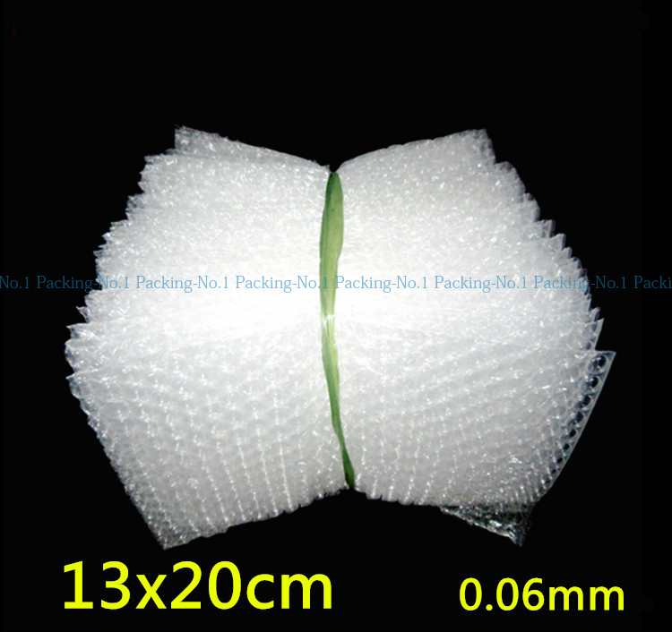 13x20cm 0.06mm 200pcs New Wrap Envelopes/ White Plastic Bubble Bags/LDPE Packing material Bubble Bag Wholesale price(China (Mainland))