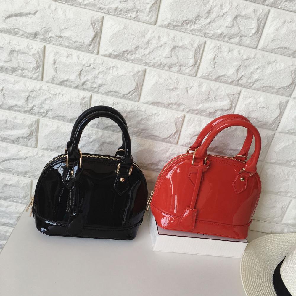 New Arrive Luxury Handbags Women Bags Designer Shell Bag High Quality Patent Leather Famous Brands Shoulder Tote Bag Sac A Main(China (Mainland))