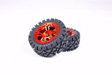 Buy 1/5 RC baja parts Rovan rc car parts Strong 5B baja Front full Terrain tyres set CNC ALLOY Front Wheels hubs 95257 for $125.00 in AliExpress store