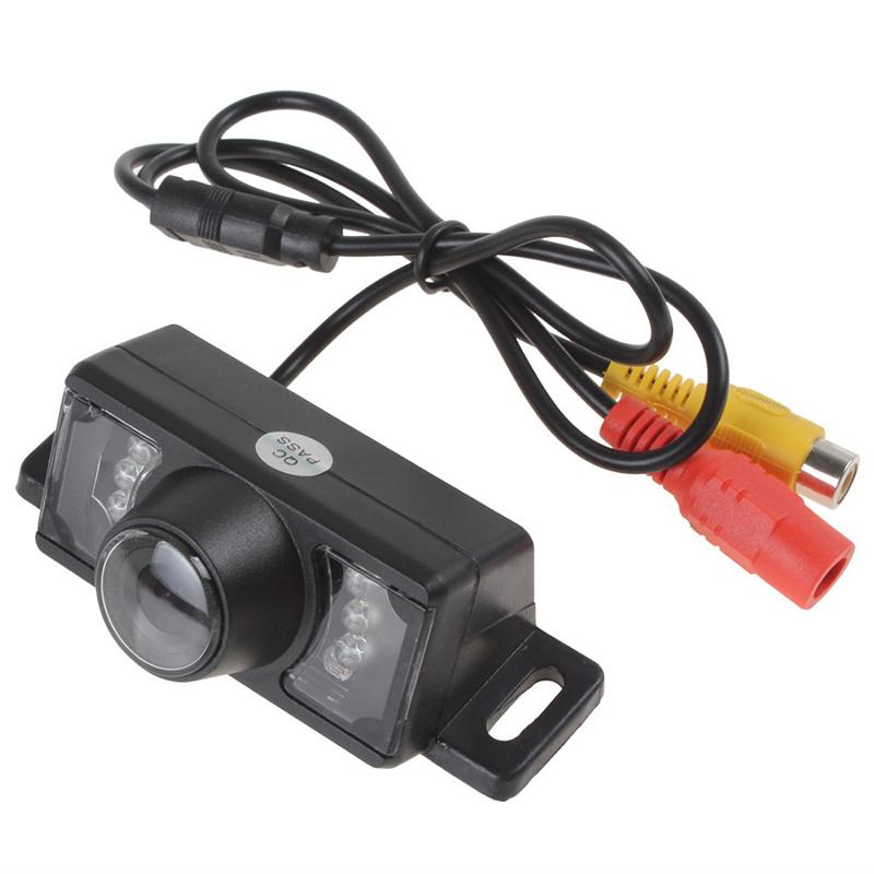 Auto Parktronic HD Car Rear View Camera Night Vision Car Back Camera Parking Camera License Plate Camera With 7 IR Lights(China (Mainland))