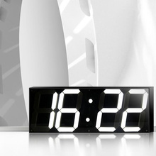 5.9 inch Jumbo Digital Led Wall Clock For School Home Decor Train Station