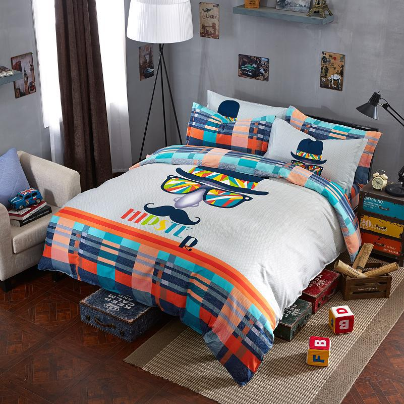 Mife cartoon style bedding brand new fashion chaplin 39 s for New style bed
