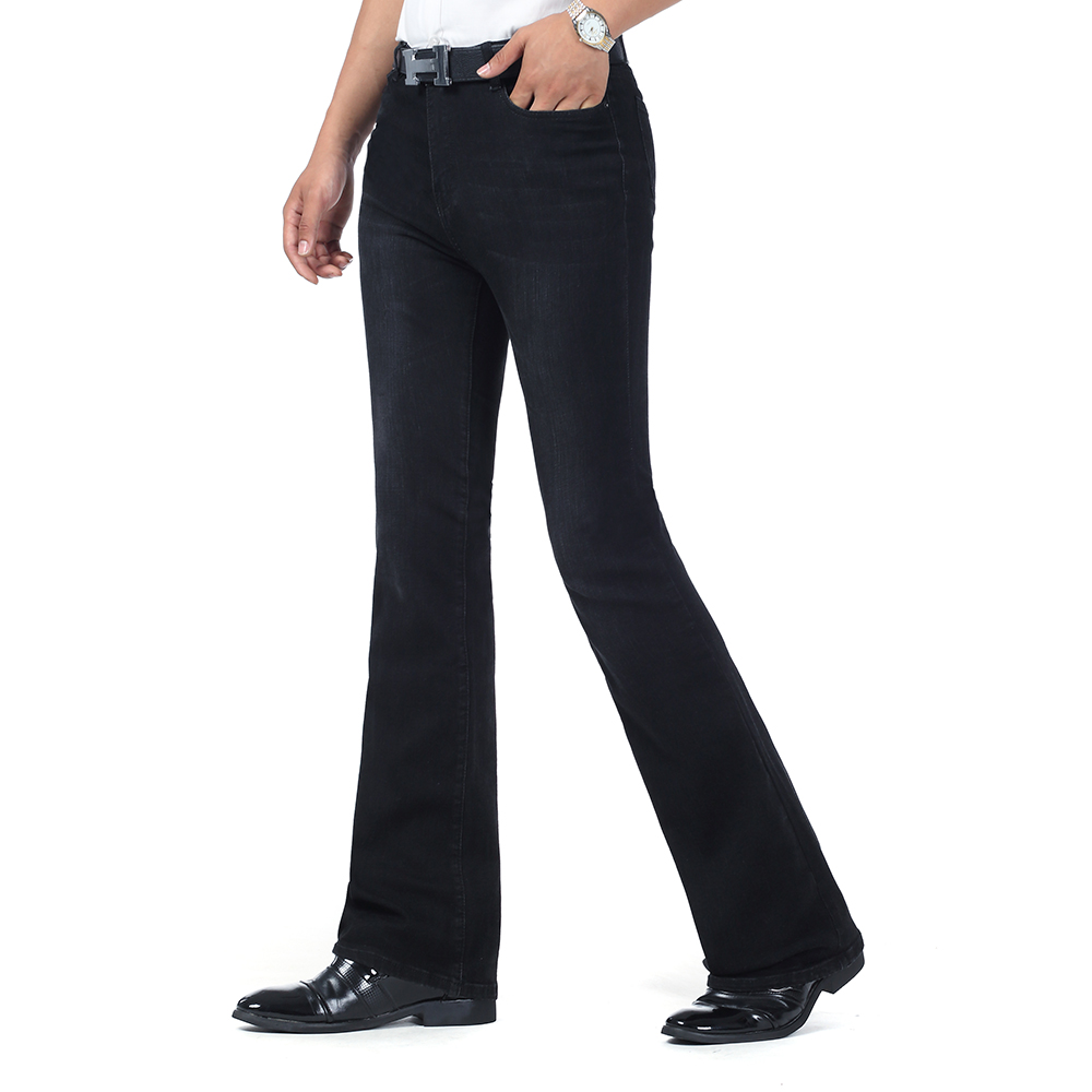 Black Bootcut Jeans Men - Jeans Am