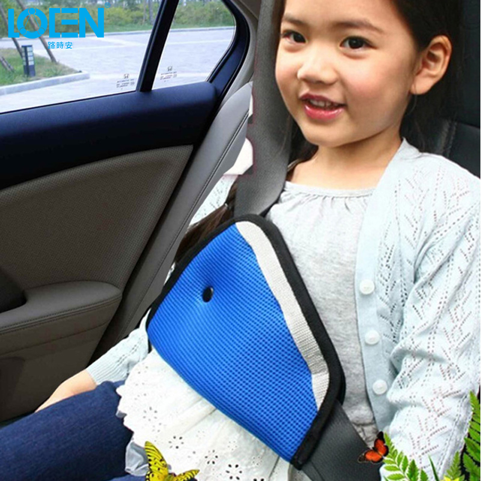 1PC Baby Car Safety Seat Belts Adjuster Clip Accessories Child Cover Shoulder Harness Strap Adjuster Kids child Seat Belt Clips(China (Mainland))
