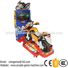 2016 Hot Sale Amusement Park Equipment Kids Coin Operated Game Machine Electric Motorcycle 3D Moto Motorbike Video Kiddie Rides(China (Mainland))