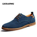 Men Shoes Plus Size 38 48 Classical Men Cowhide Leather Low Top Flat Oxford Shoes For