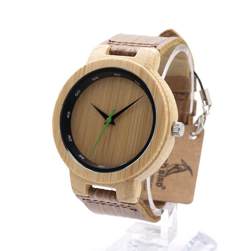 BOBO BIRD D17 Handmade Craft Mens Wood Watch Wristwatches Luxulry Dress Watches Japanses Movement Quartz Gift OEM - Formal Store store
