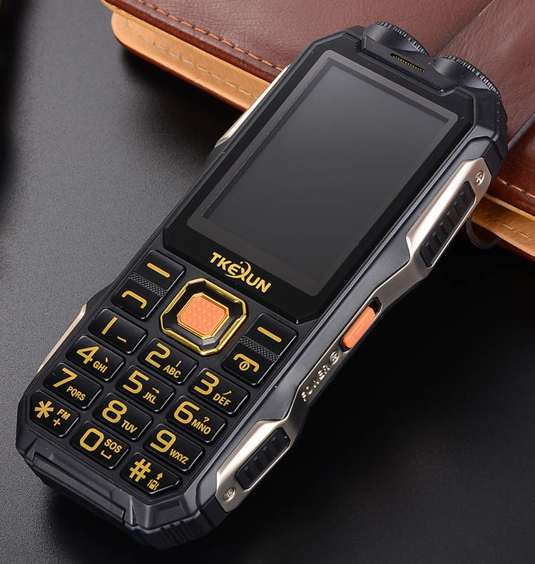 image for Gift Power Bank FM Shockproof Flashlight Original Mobile Phone Russian
