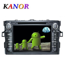 Toyota Corolla 2012 Pure Android 4.2 Car DVD GPS Player Autoradio Stereo Capacitive Touchscreen with Map and WIFI