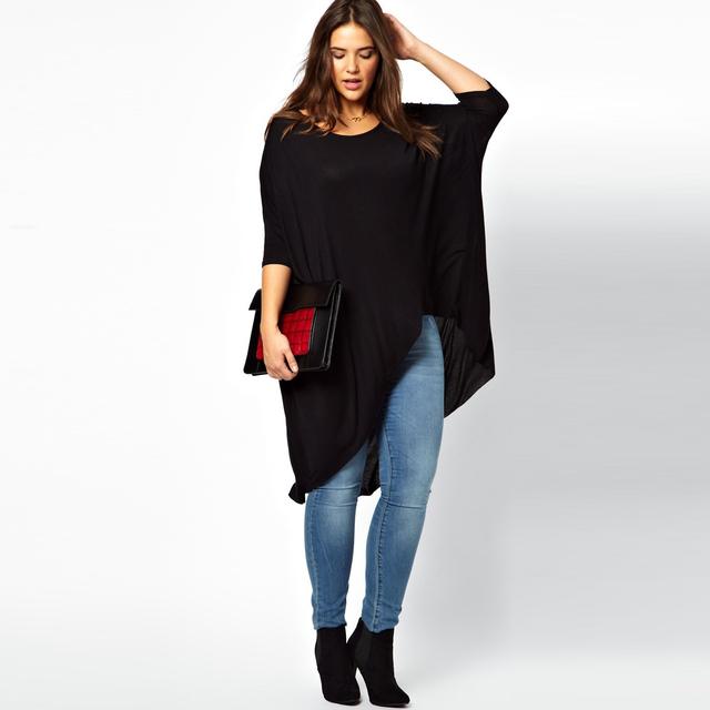 2016 женская одежда одежда новинка ти популярные женщины Большой размер футболки большой большой 8XL 9XL 10XL 7xl завышение Большой размер футболки женщина