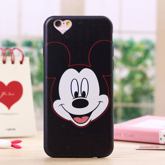For iPhone 6 Case Cute Cartoon Minnie Mouse Soft Silicone Phone ... 44005e6d9c2