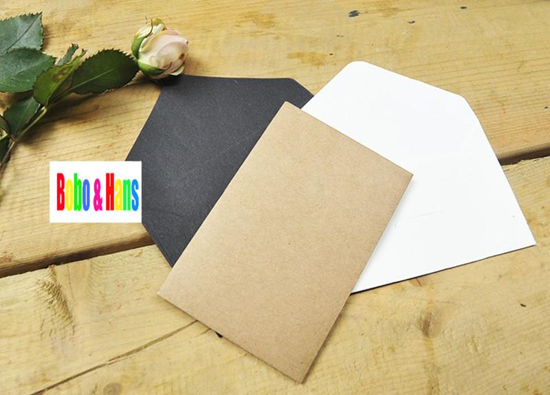 Как сделать из крафт бумаги конверт