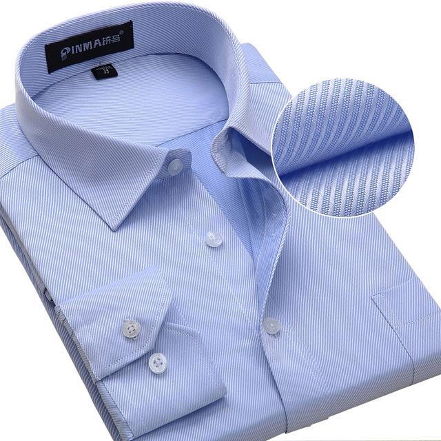 2016 новый высокое качество мужской с длинными рукавами тонкая рубашка бизнес свободного ...