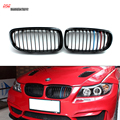 E90 front kidney M tri color ABS racing grill for Bmw 3 Series 2008 2009 2010