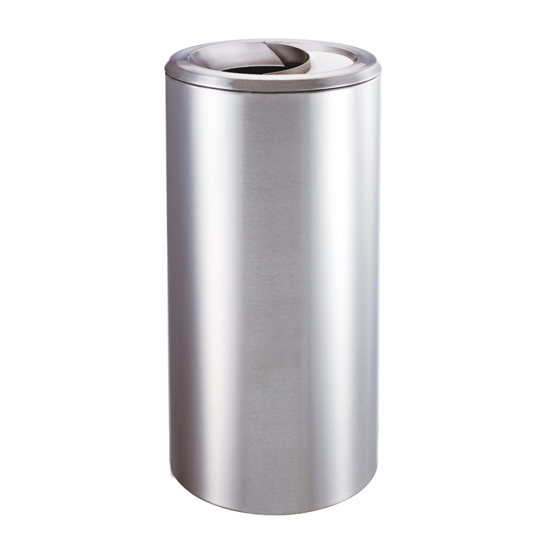 Hong Kong-style shopping mall wholesale stainless steel floor ash bucket Fire Road corridor stairs trash garbage bin(China (Mainland))