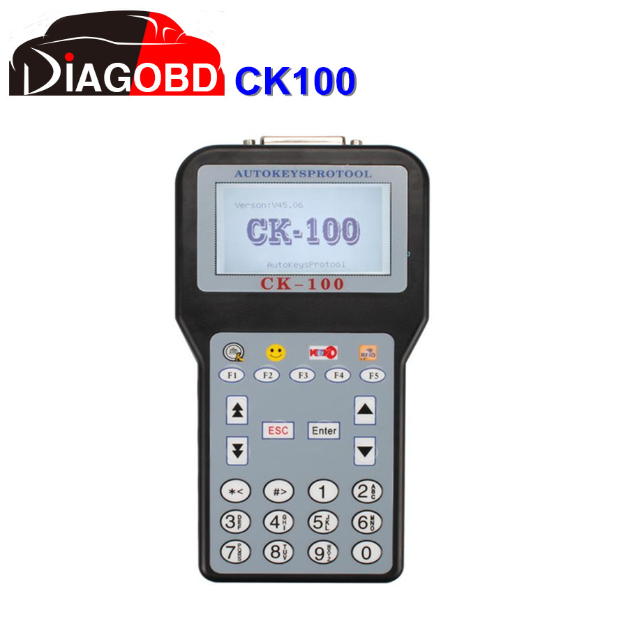 CK100 V46.02 CK-100 CK100 Auto Key Programmer with 1024 Tokens V46.02 CK100 With Fast Express Shipping(Hong Kong)