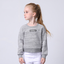 Miqidida Autumn Big Children's Sweatshirt Solid Full Sleeves Girl's Hoodies Casual Kids Pullover Clothes Child Tops 110-160cm(China (Mainland))