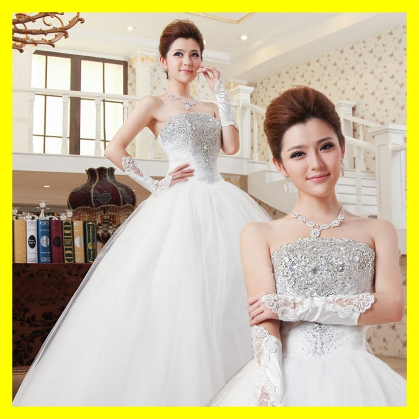 Cotton Wedding Dress Casual Dresses Hire Mormon A Ball Gown Floor-Length None Crystal Sweetheart Off The Shoulder Sl 2015 Outlet(China (Mainland))