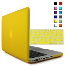 Rubberized Matte shell case for Macbook Pro 13 15 inch Caso with Silicone Keyboard Film for macbook case cover para portatil(China (Mainland))