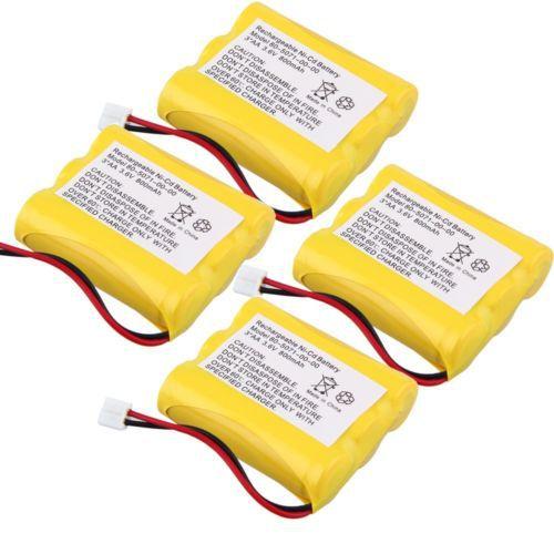 4pcs 3.6v 800mAh Phone Battery for Sanik 3SN-AA60-S-J1 3SNAA60SJ1 Vtech MG2423(China (Mainland))
