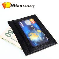 2014 Fashion Luxury Birthday Gift Men and Women  Luxury Leather Card ID Holder Wallets Free Shipping