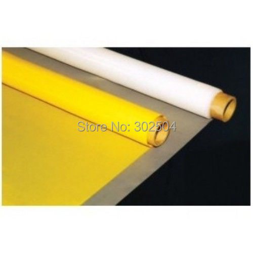 100 mesh 39T 2.2m(86.5inches) polyester monofilament screen printing mesh(China (Mainland))