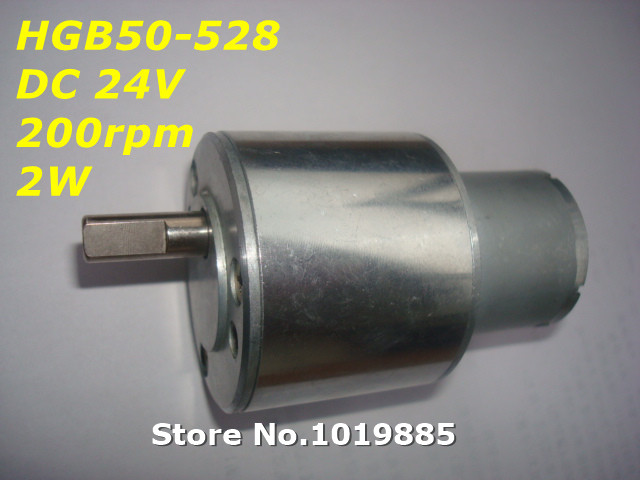 Wholesale 1pcs Hgb50 528 50mm 24v 200 Rpm 2w Mini Micro
