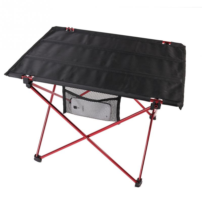 1 PC Portable Aluminum Roll Up Folding Table Outdoor Camping Picnic Table Ultra-light(China (Mainland))