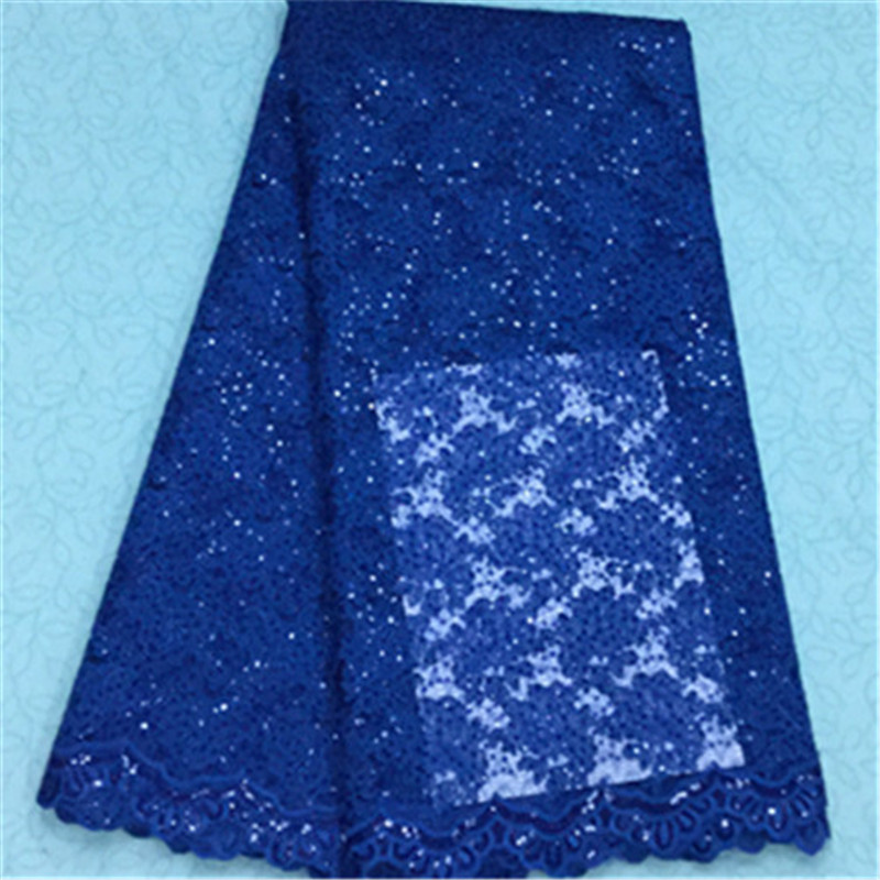 16L-NG188! High quality African cord lace fabric new arrival guipure lace fabric for party dress Free shipping